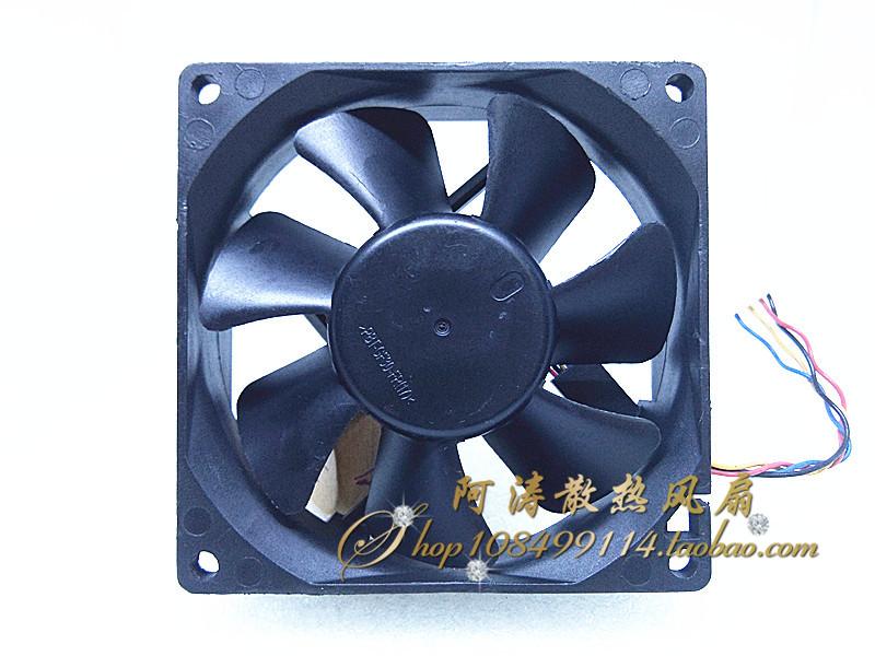 1VVH1-A00 original de la ligne de pwmCPU Delta 12V8cm4 le châssis de ventilateur 8025AUC0812D-AJ75