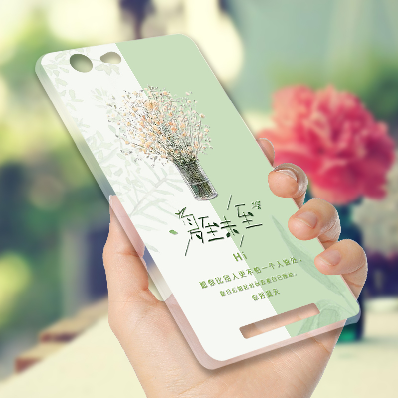 Jin M5 mobile phone shell silicone soft sleeve inspirational creative personality small fresh package fell hard and the new frontier