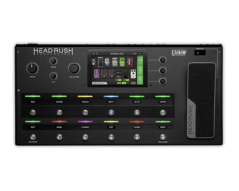 HeadRush Pedalboard Electric Guitar Bộ cảm biến Tích hợp màn hình cảm ứng