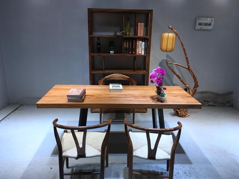 185 * 79 * 6 or bureau bureau en bois d'Osaka au comptant de carte unique bureau table carrée