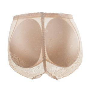 蝴蝶秘密提翘臀神器中腰无痕透气加垫假屁股蜜桃塑身丰臀内裤女士