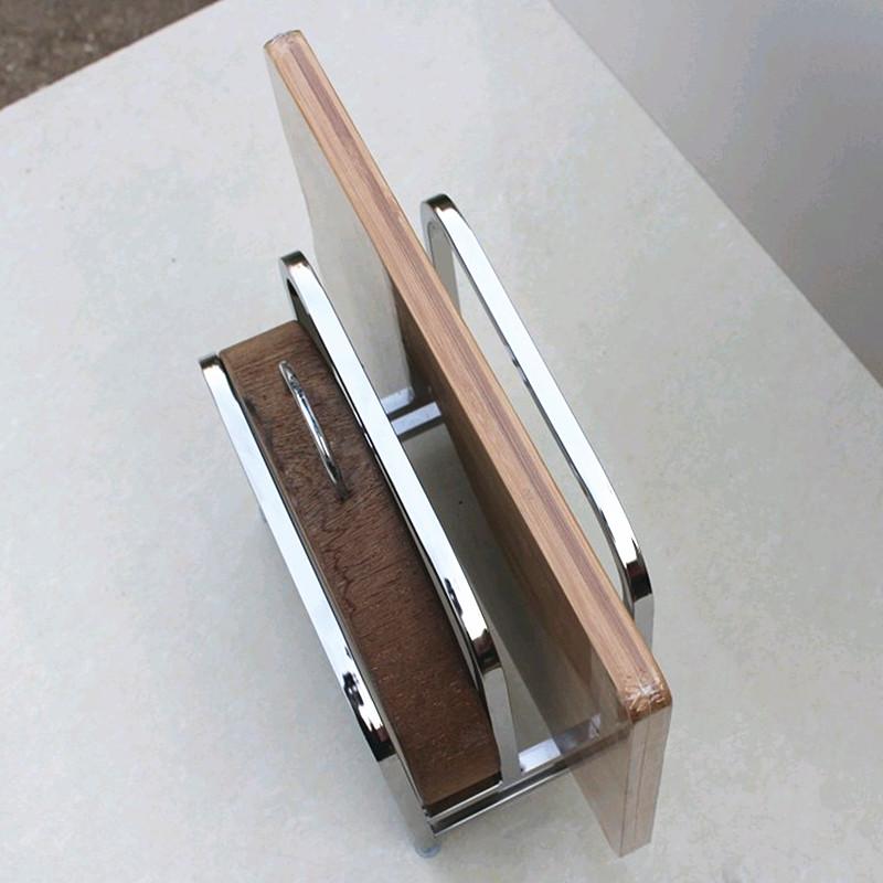 Tabla tabla estante de acero inoxidable del asiento de los utensilios de cocina tabla tabla rack con marco a.