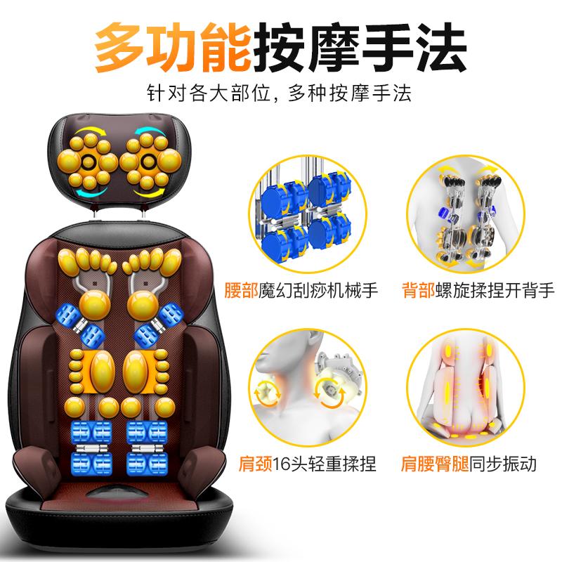 în spatele pernei scaunului electric cervicală de masaj la gât tot pe perne de uz casnic (.