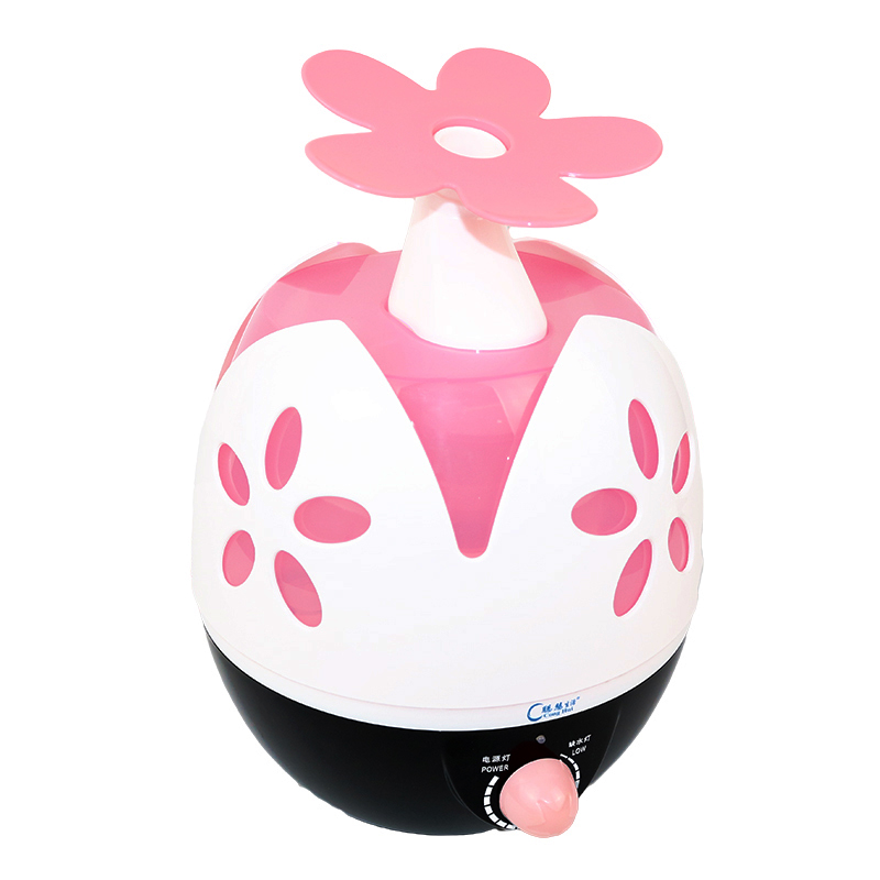 USB desktop office bedroom mute Mini humidifier cute little cartoon creative household air purifier