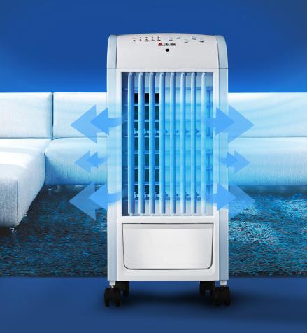 エアコンのうちわ冷温両用冷たい風機家庭用リモコン冷房扇クーラー水冷小型扇風機クーラー寒い