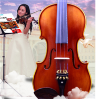 Wood violin piano grading test instrument manual for children and adults with high-grade violin for children