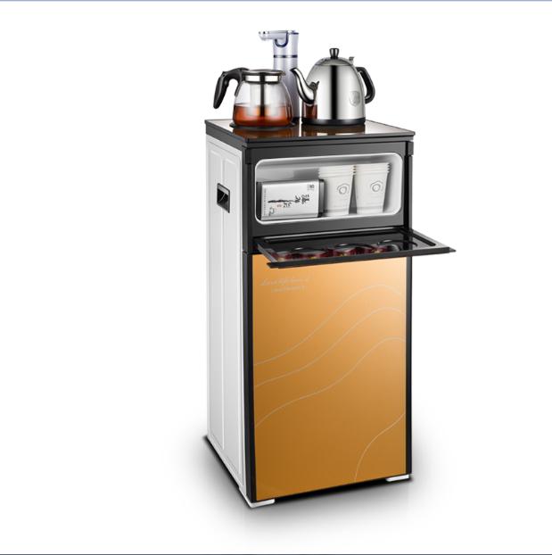 Το ζεστό και το κρύο πάγο οικιακή συσκευή κάθετη γραφείο ζεστό νερό ψύξης μηχανή διπλό γυαλί οικιακών εξοικονόμησης ενέργειας βραστό νερό μηχανή