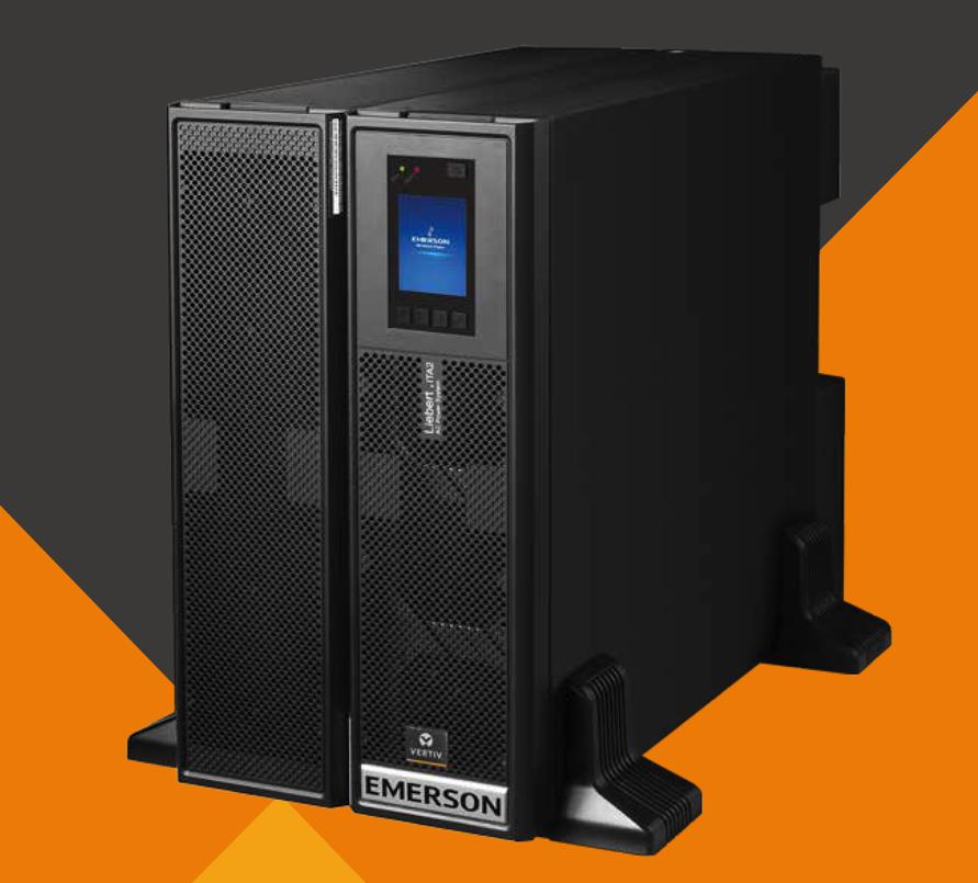 エマーソン・ITA-10k00AEA102C00UPS不間断電源10KVAラック式内蔵電池