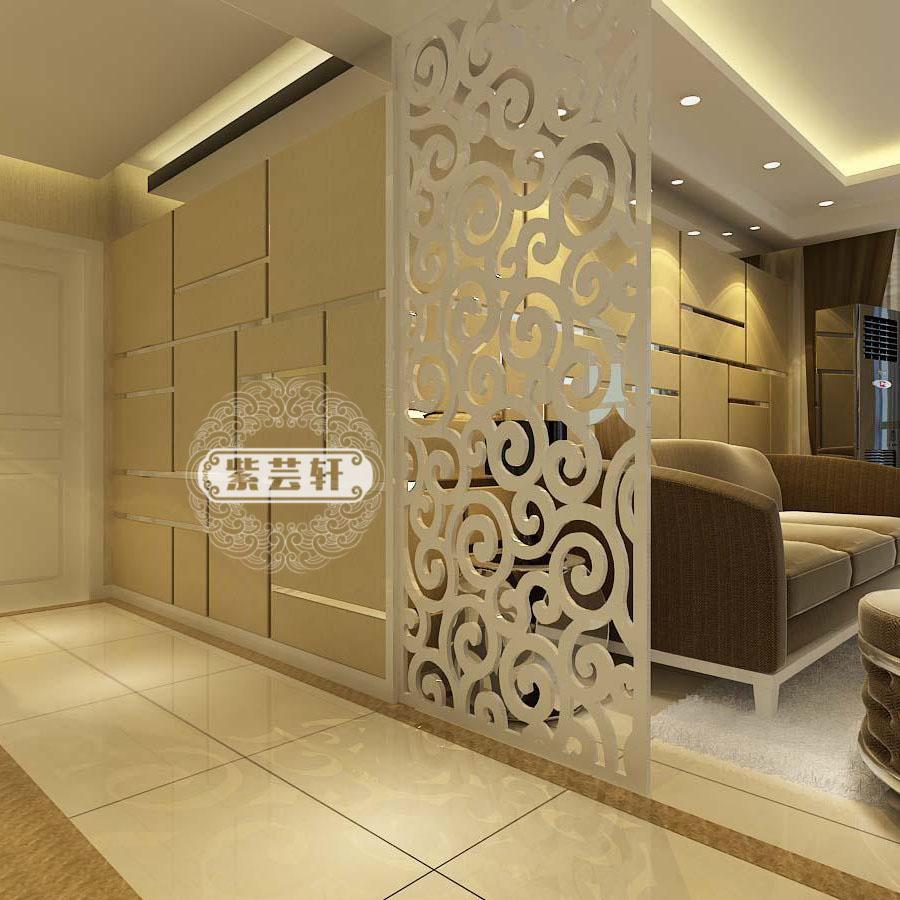 通花板 密度板镂空花木雕花板 玄关隔断墙屏风墙中欧式花格