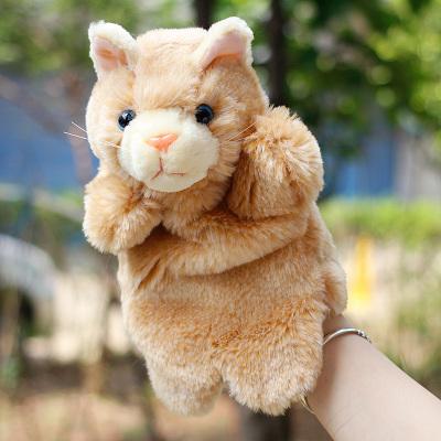 Η Ιαπωνία μαριονέτες σε παιδικά παιχνίδια τη γάτα και το ποντίκι μάπετ ωραίο ζώο γονέα αμοιβαία την αγορά τα γάντια σου τσάντα.
