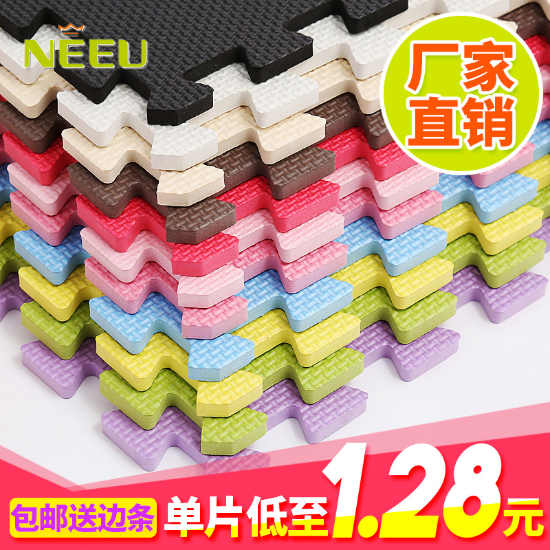 In accordance with the gifted children mats anti-skid floor mat bedroom puzzle tatami mat crawling pad thickening stitching
