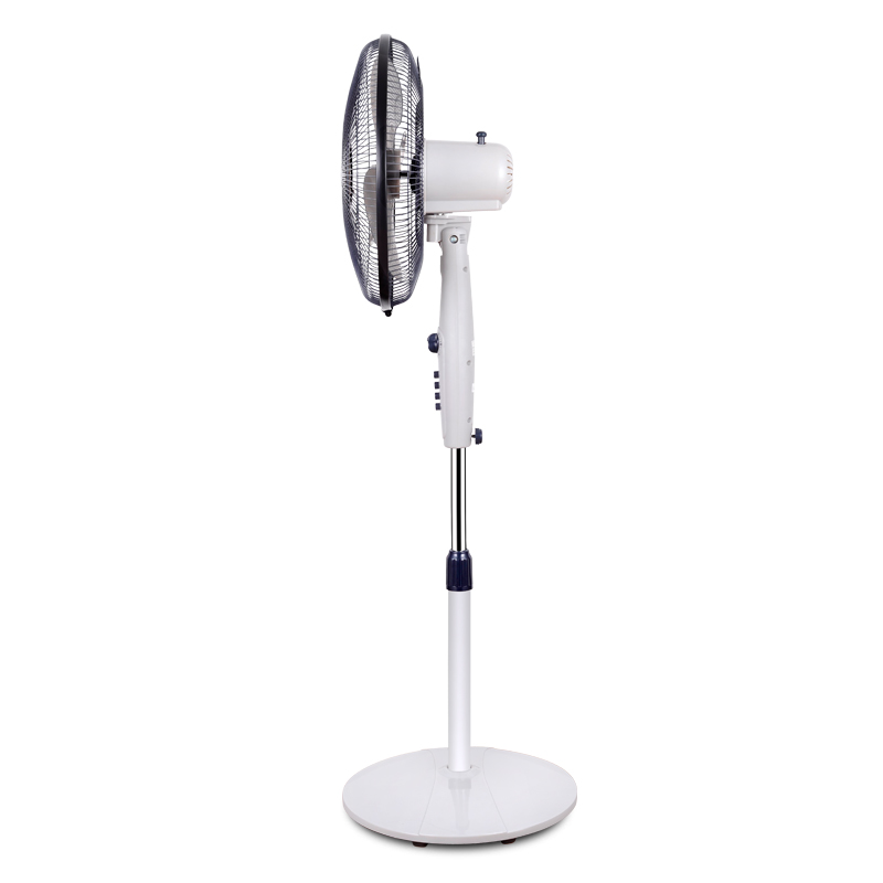 Huabao electric fan desktop fan head lifting mechanical vertical fan 16 inch commercial school office