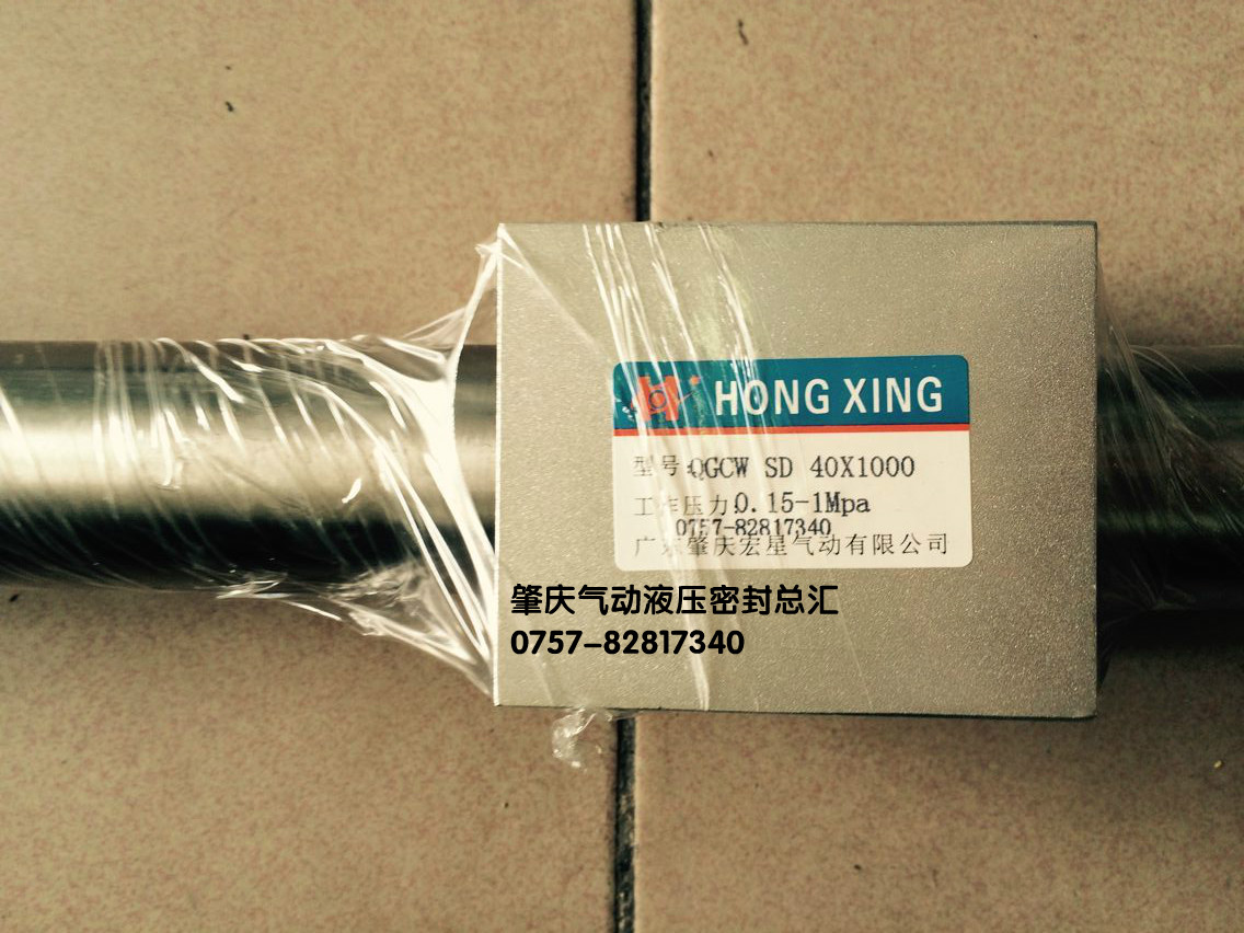 Zhaoqing QGCWSD40X1000 magnetic cylinder without piston rod