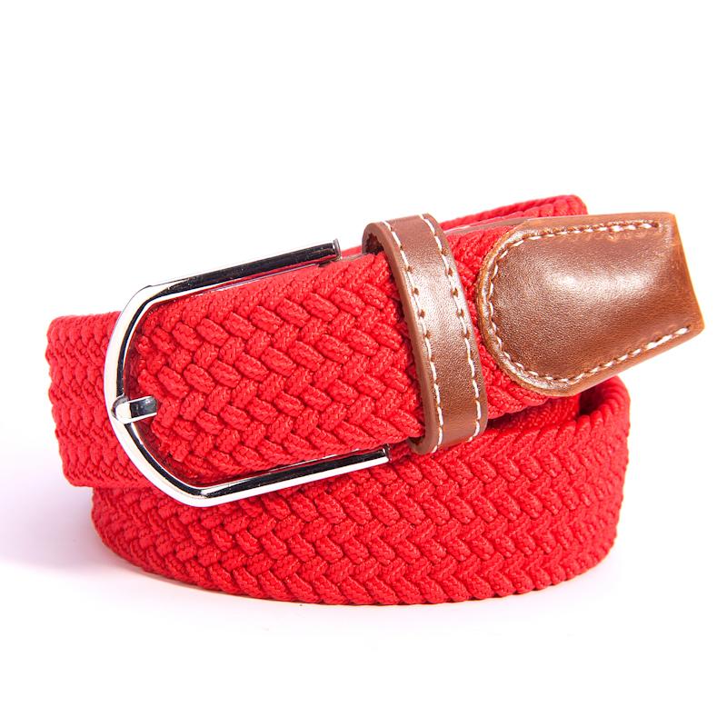 Signora... - la fibbia della Cintura di Tela coreano semplice Joker Cintura di Pelle Elastica gli uomini e del Tempo Libero per gli studenti e i giovani.