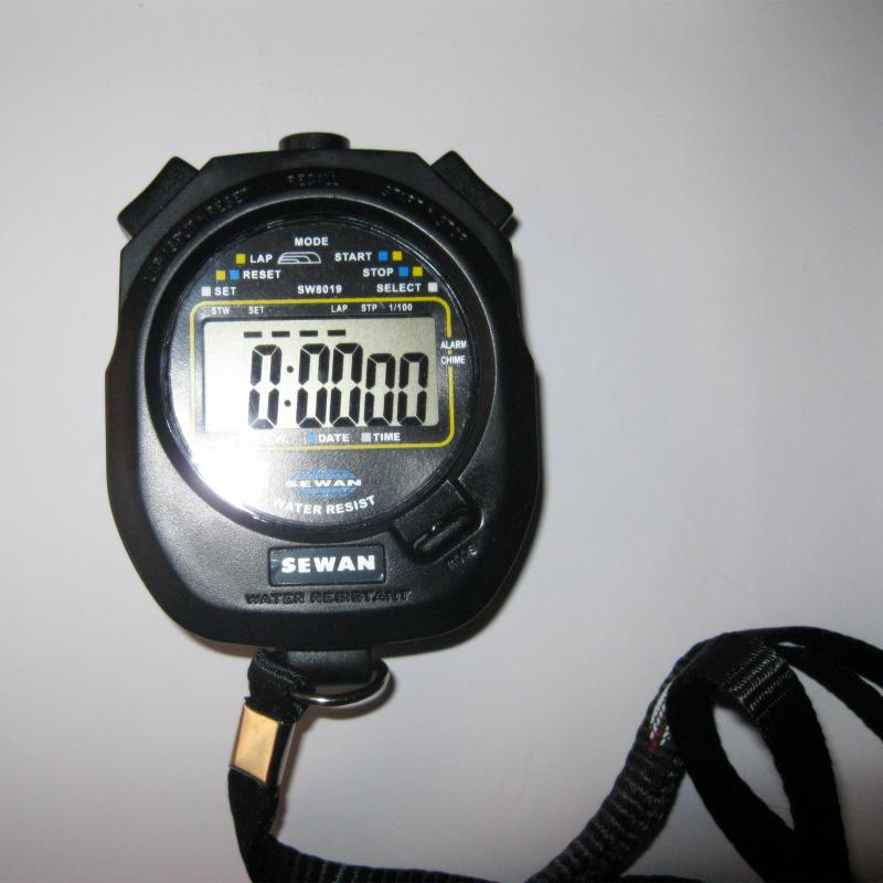 Post game multi-function stopwatch stopwatch genuine games SW8019 single game timing motion accounting