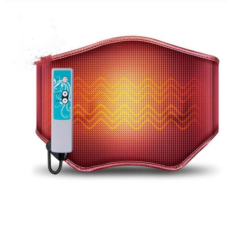 電気護ベルト振動マッサージ暖かいベルト腰保護暖かい宮電気加熱腰盤過労灸温湿布