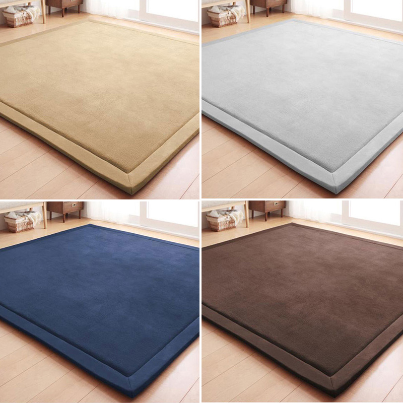 The tatami mat carpet thickened kindergarten baby pad style bedroom living room bed pad thickening border fell