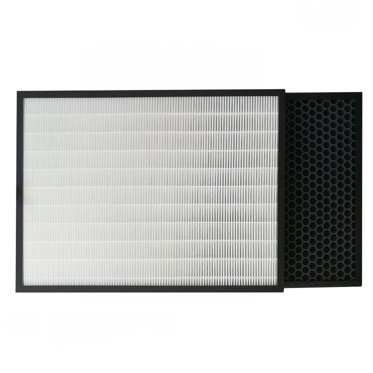 A special HEPA dust collecting filter screen and activated carbon deodorization filter screen suitable for Panasonic F-VM5F0C air purifier