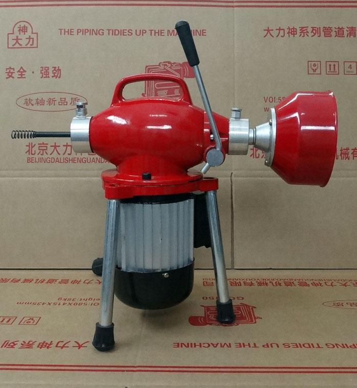 80 - 180 de tipo eléctrico la limpieza de tuberías de alcantarillado de draga Dragar 550 vatios por correo paquetes de alambre de cobre