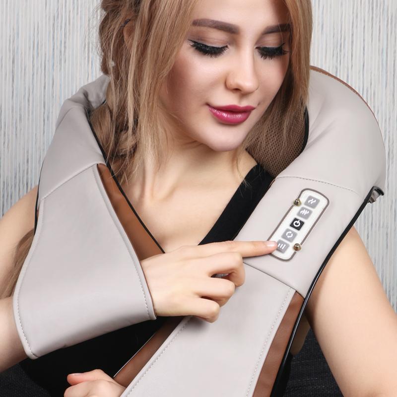 masaż szyi / elektryczne na szyi i ramion. ramiona szyjki macicy. trzy gospodarstwa domowego.