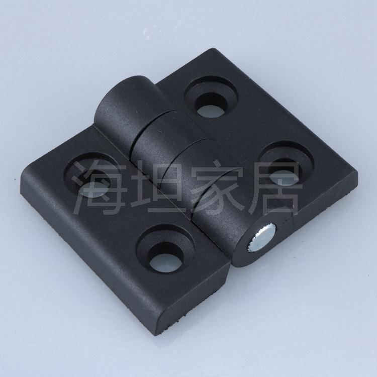 Perfiles de aluminio de lanzamiento de 33 * 24ABS bisagra bisagra bisagra de plástico de nylon plástico 57 - 46