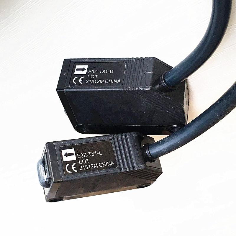E3Z-T81 التعريفي الأشعة تحت الحمراء الاستشعار الكهروضوئية التبديل E3Z-T81-LE3Z-T81-D على انبعاث الحزب التقدمي الجديد