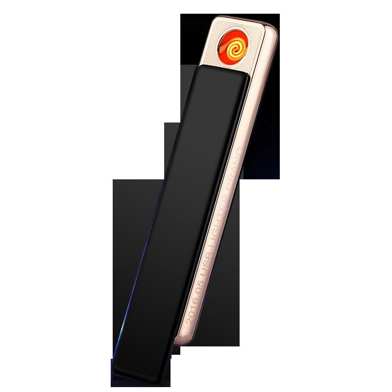 La personalidad de un cargador USB de encendedores de luz electrónicos el dedo de personalización de los hombres de letras