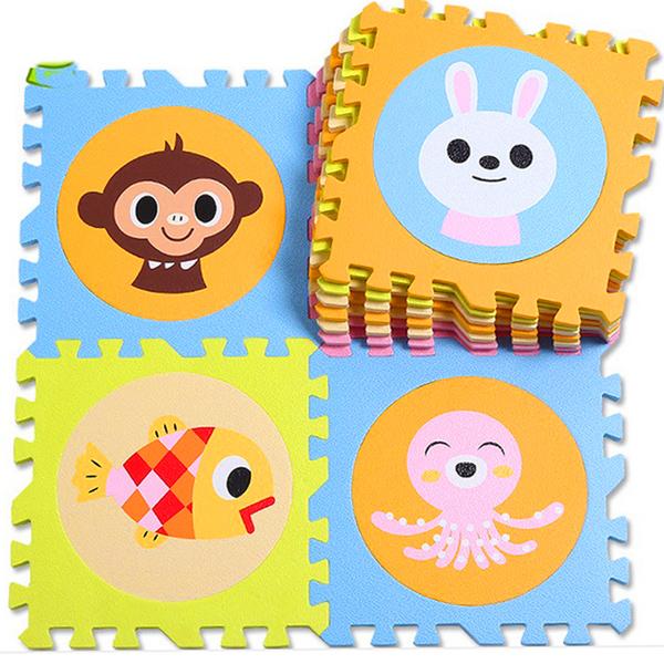 Foam pad floor mat mat bedroom carpet mosaic puzzle cartoon children's bedroom tatami crawling pad