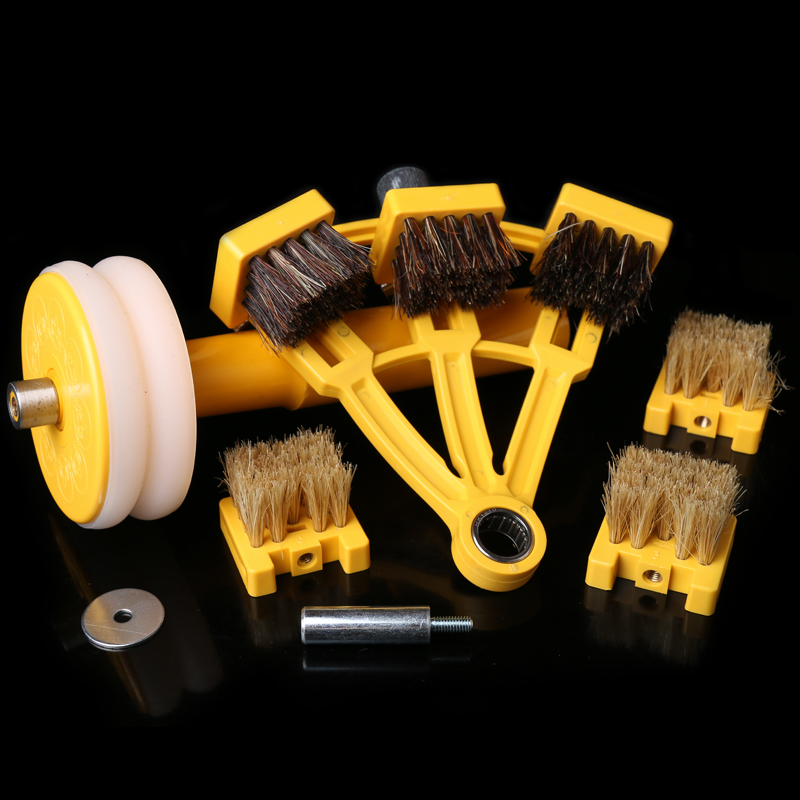 Small hand brush brush Wenwan black bristle brush olive sized Vajra Bodhi semi automatic brush brush