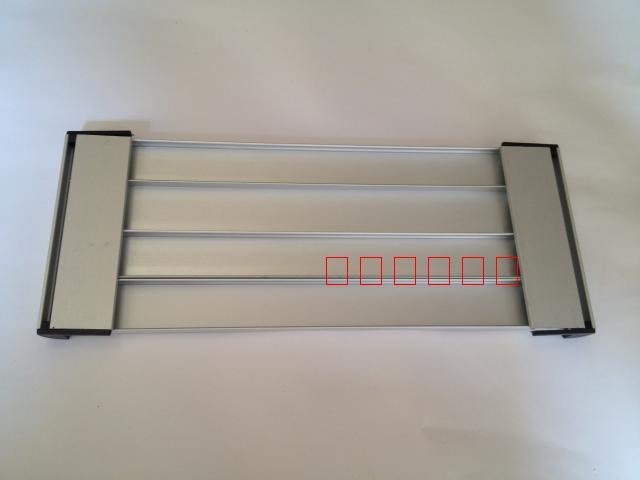 A Bordo del marchio in Bianco semicerchio del marchio di profilati di Alluminio in Lega di Alluminio del marchio di personalizzazione del marchio 3+9*31