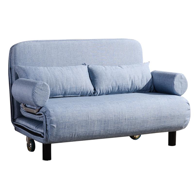 新品の促銷としても折り畳むソファベッドとソファベッドの2人を1メートルにして折りたたむ
