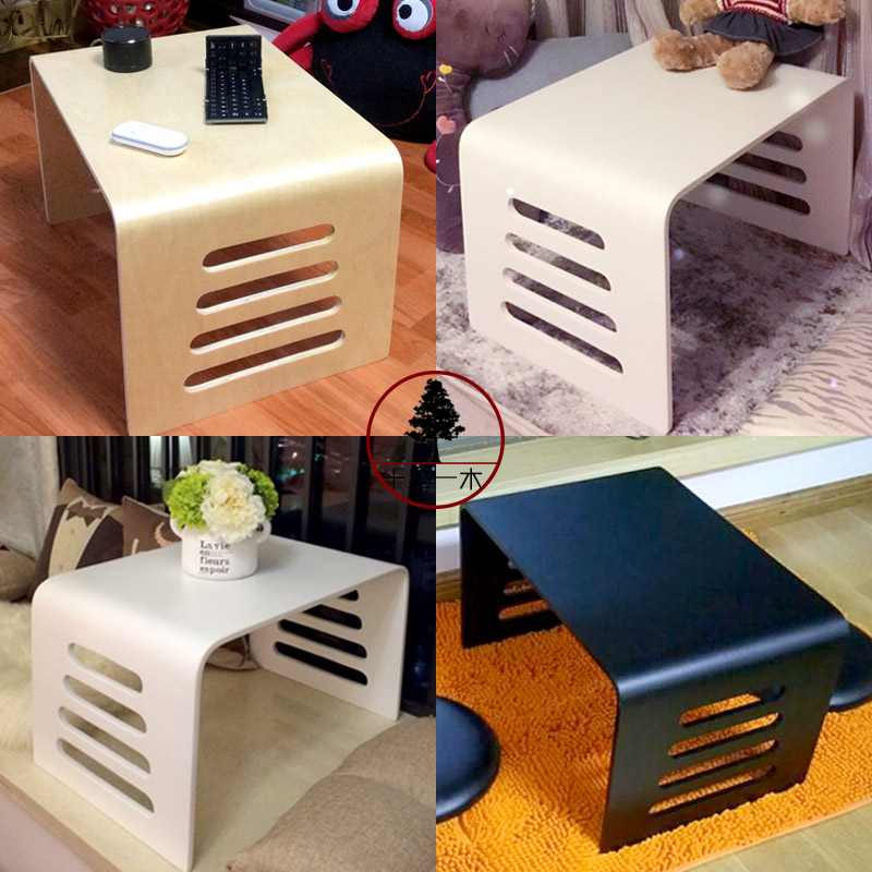 Japanese tatami tea table table window balcony small tea table minimalist style solid wood bed computer desk table for children