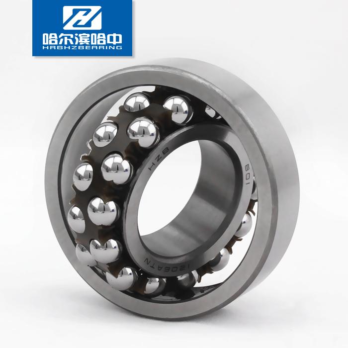 høj hastighed præcision 2206K dobbelt række kuglelejer stål og cylindriske konisk hul i kategori 1 i HZB harbin