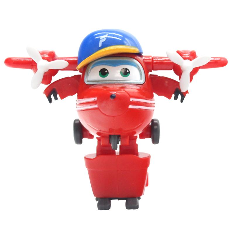 スーパー飞侠乐迪大きいサイズの艾全セット超魔法のミニ版トランペット変形ロボット玩具