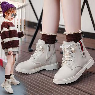 【实心底】女童靴子儿童马丁靴单靴2020