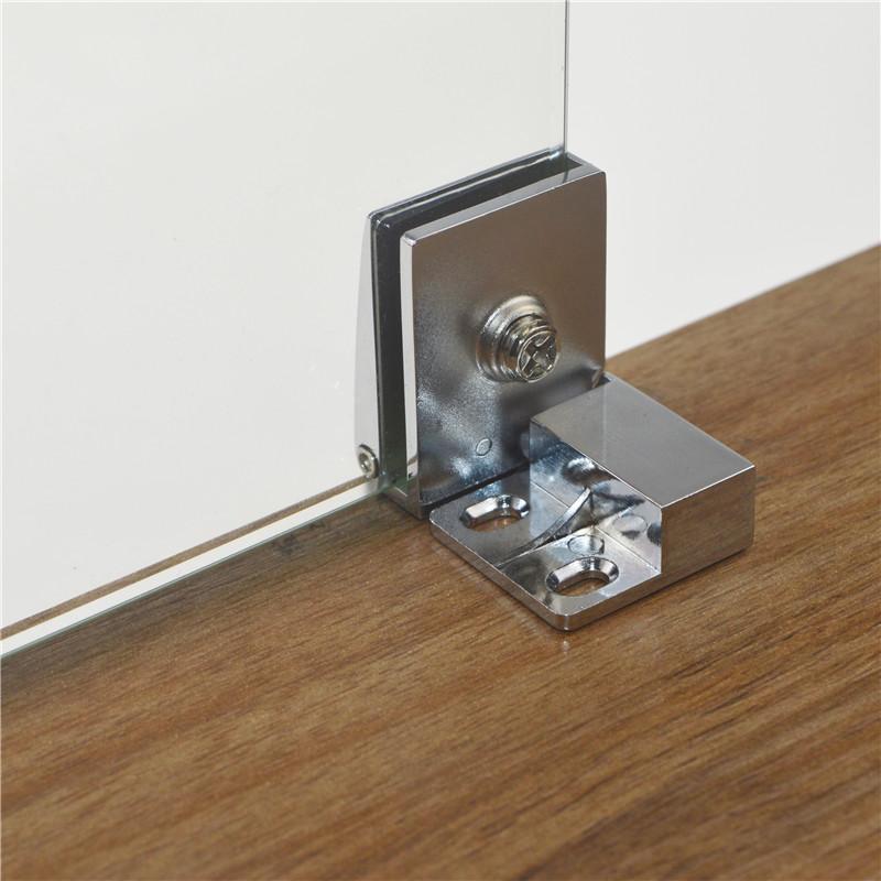 Aleaciones de cinc en la puerta del armario de vidrio con vidrio libre de apertura de puerta bisagra bisagra bisagra aparador vitrina
