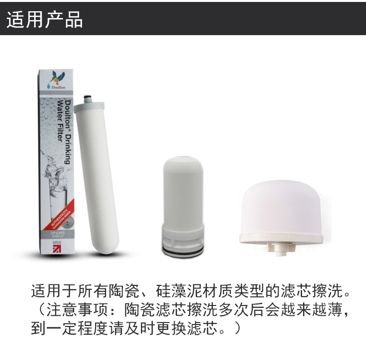 The water purifier can be washed repeatedly scrub ceramic filter cloth paper matte paper dry wet amphibious sand paper 100 clean cloth