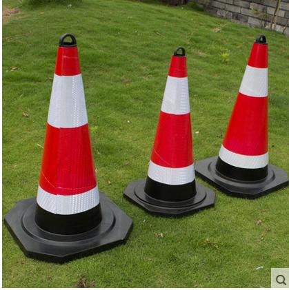резиновый дорожные конусы 70cm снять кольцо светоотражающие конус мороженого ствол светоотражающие конический ствол баррикады конус предупреждения конус парковка запрещена