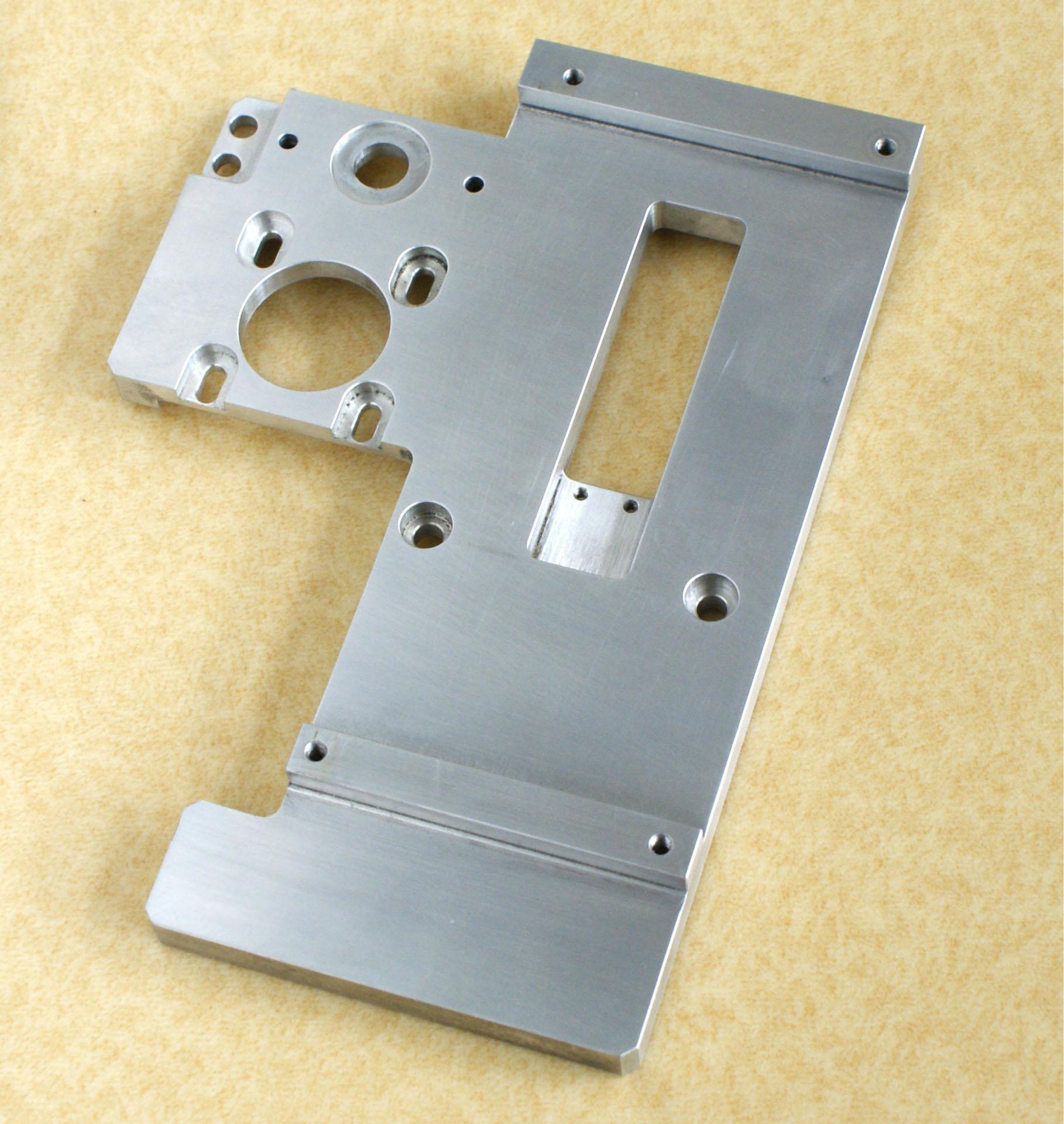 La Lavorazione di Alluminio in Lega di Alluminio, Alluminio piatto di bricolage dei pugni di piegare il taglio Laser modificato per la mappa
