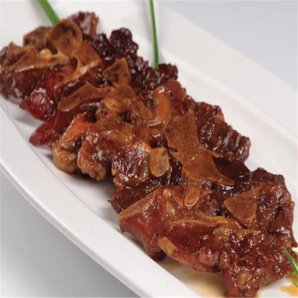 Black pig keel like chowhound Wenzhou native bone side tender meat 220 grams /28 yuan snack full shipping