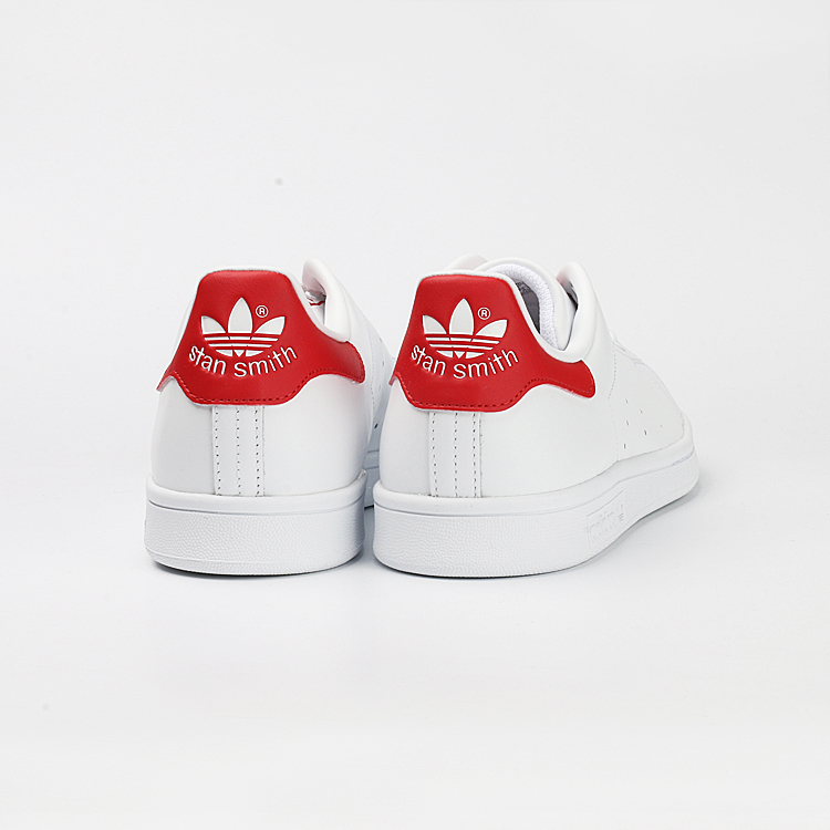 Adidas trefoil Smith Smith red tail white tailed white shoes M20326S75104