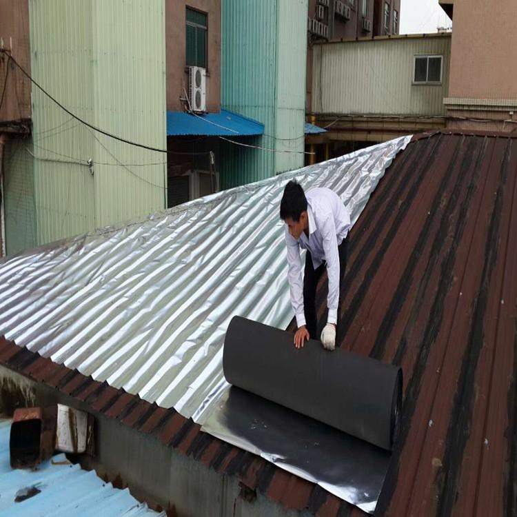 El aislamiento térmico del techo de lámina de aluminio de algodón siliconado de techo el techo de lámina de aluminio de membrana impermeable de aislamiento térmico aislamiento de algodón siliconado
