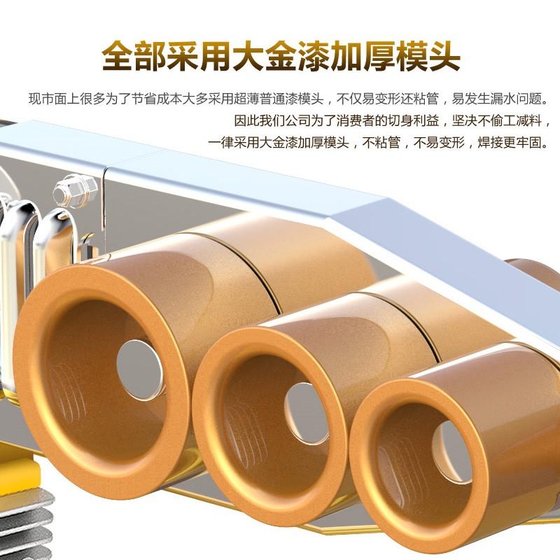 La gran máquina de fusión del fusible de potencia digital PPR una máquina de fusión caliente de recipientes de uso doméstico de 1000w apoderarse de su cabeza