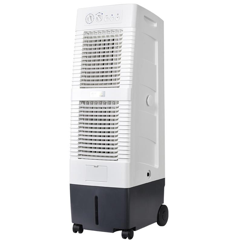 雷豹冷たい風機大風量移動商用单冷エアコンのうちわ水冷エアコン家庭用冷凍ファンカフェ