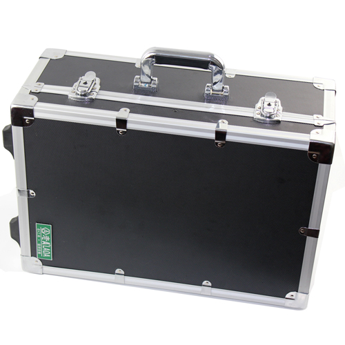 Old A reinforced aluminum alloy pull rod box shock proof instrument box hardware toolbox LA112520