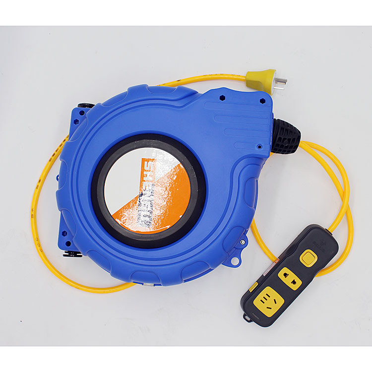 Automatic telescopic electrical line cable reel reel reel reel automatic tracheal lamp gas electric drum