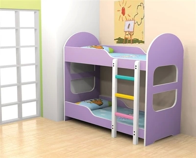 Kindergarten bed baby bed, child bed, high and low bed, double bed bunk bed, bunk bed special bed board for nap