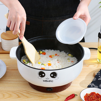 Multi-functional cooker multi-purpose household pot mini electric cooking pot 1-4 people