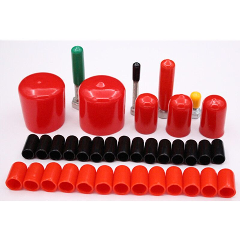 Rubber sheath cap sealing cap cylinder cap rubber plug thread sheath pipe sheath bulkhead
