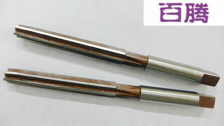 Hand reamer with high speed steel hinge Daoshou reamer with straight shank reamer 1--12.5